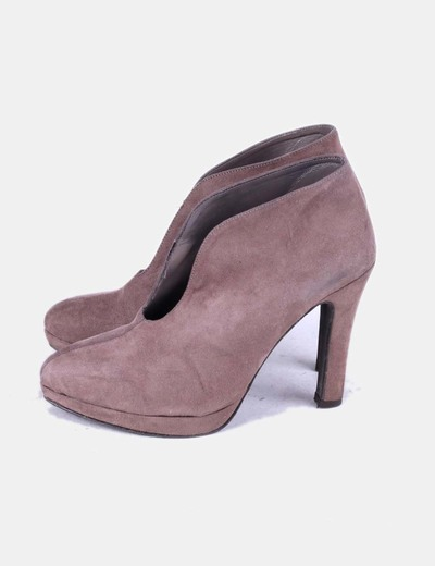 Taupe Zapato Abotinado Taupe Abotinado Abotinado Zapato Zapato 3ALR45jq