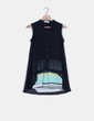 Camisa combinada azul marina de dos piezas Lily Jean
