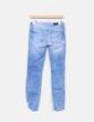 Jeans denim efecto desgastado Zara