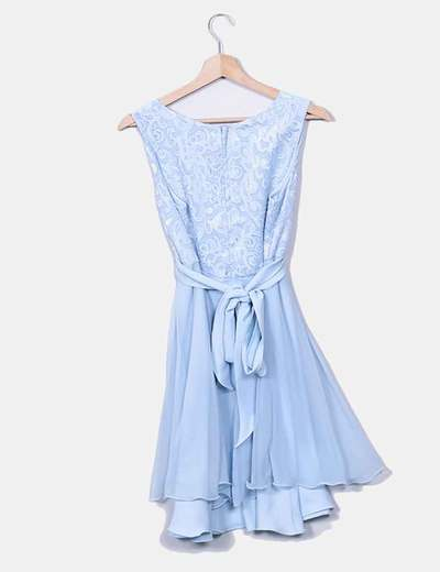 Chapeau Conjunto de vestido azul claro e jaqueta (desconto de 80%) - Micolet 0a5f4e3f17