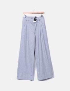 Pantalón recto gris texturizado Topshop 9e120b41996d