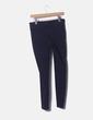 Legging navy blue detail zippers Zara