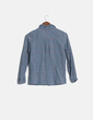 Camisa cuadros multicolor manga larga Zara