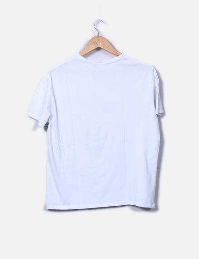 Camiseta print animal con pelo
