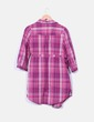Camisola de cuadros rosa H&M