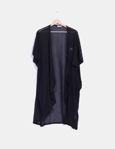 Kimono negro combinado Fashion Pills