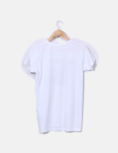 Camiseta blanca print sarcasm