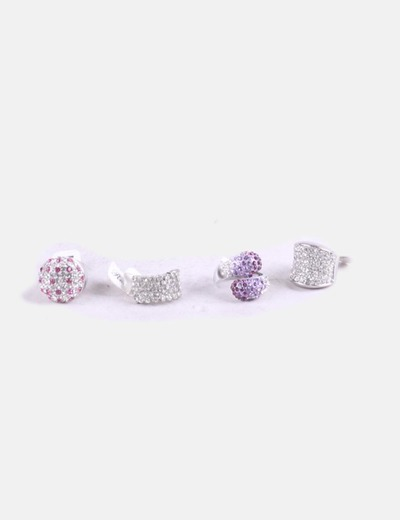 Pack anillos strass
