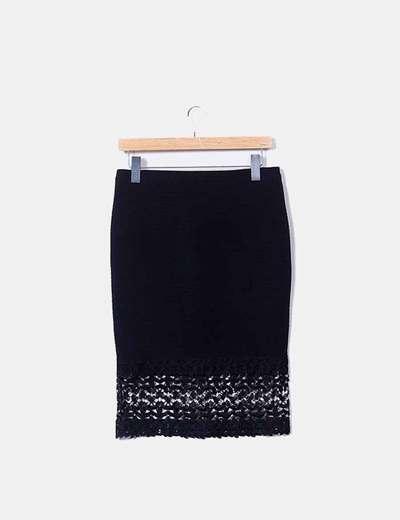 2df486055a Primark Falda midi negra combinada (descuento 81%) - Micolet