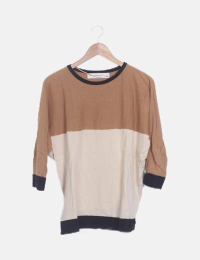 Jersey tricot tricolor