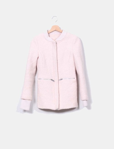 Veste rose terry Bershka