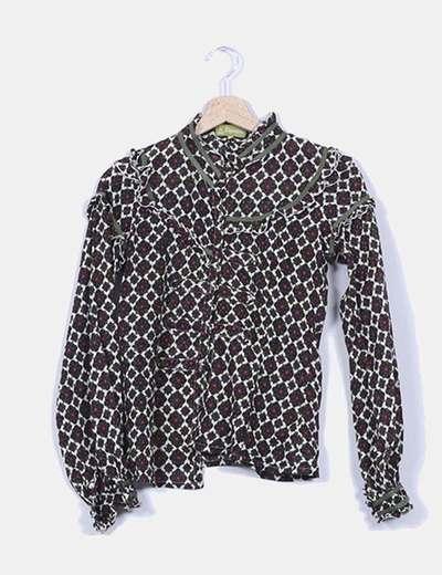 Camisa con estampado floral Riverside