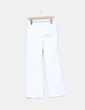 Pantalón blanco campana Mango