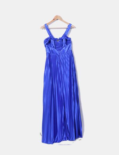 Vestido azul fiesta formula joven