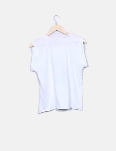 Camiseta blanca print
