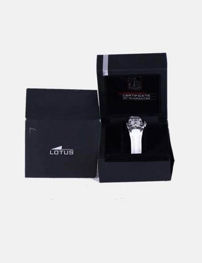 Reloj fino blanco Lotus