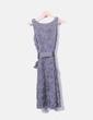 Vestido gris texturizado Promod