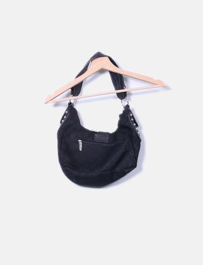Bolso combinado negro