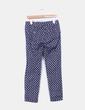 Pantalón azul marino estampado Lefties