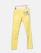 Denim amarillo bolsillo print Desigual