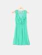 Vestido verde fluido Pull&Bear