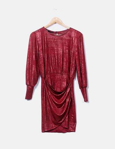 Vestido rojo glitter Celop