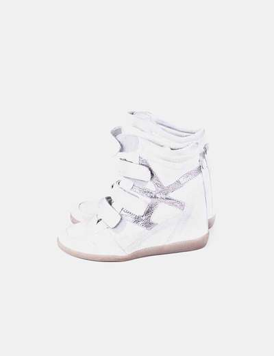 Sneakers combiandas plata