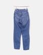 Jeans bleu foncé maman en forme Topshop