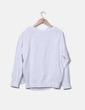 Sweat-shirt blanc floral H&M