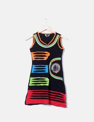 Vestido multicolor Bodyboard