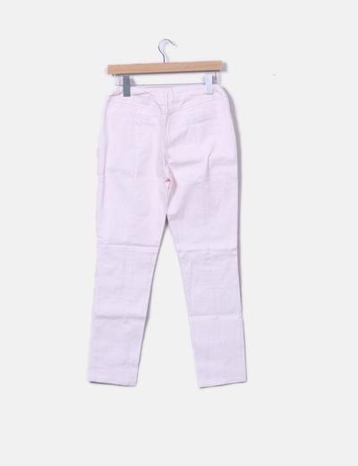 Leggings efecto denim rosa palo