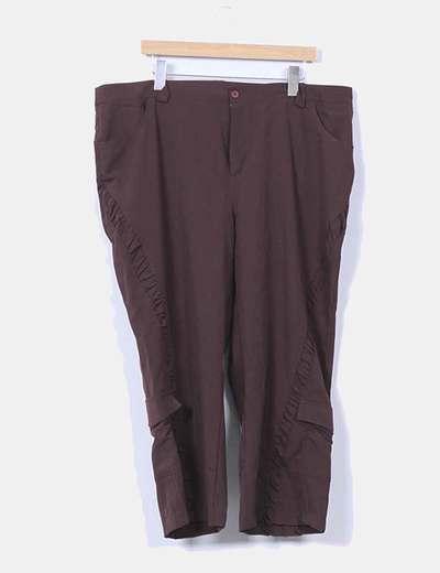 Pantalón marrón  Delfina Moda