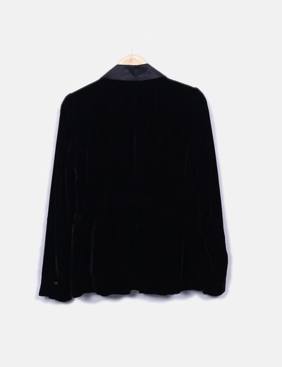 Esmoquin palazzo terciopelo negro
