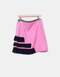 Falda de punto rosa detalle volantes y pailettes Cristina Lavish!