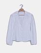 Camisa blanca bordada Massimo Dutti