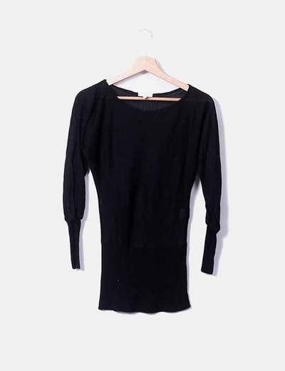 Pull noir en tricot New Look