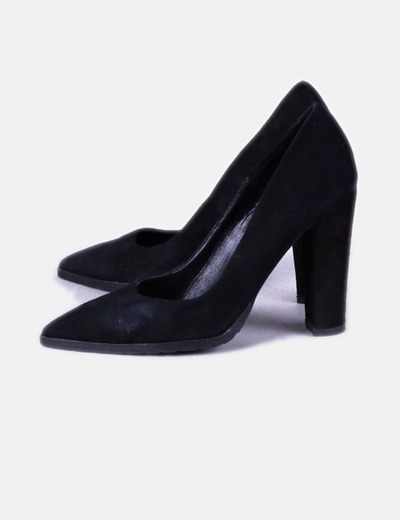 Zapato negro efecto ante NoName