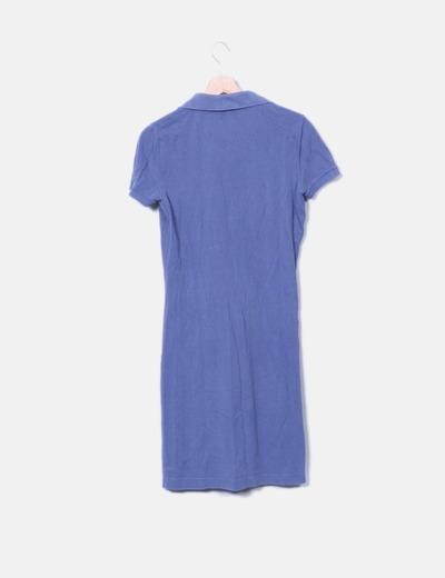 Vestido deportivo azul lacoste