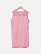 Vestido rosa encaje NoName