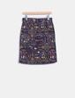 Falda midi estampado multicolor Bimba&Lola