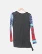 Camiseta multicolor d manga larga Desigual