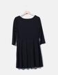 Vestido negro con vuelo H&M