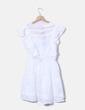 Vestido blanco calado JAYLOUCY