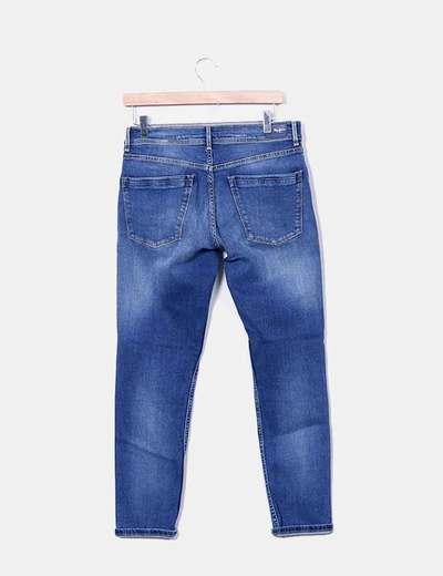 Jeans denim print