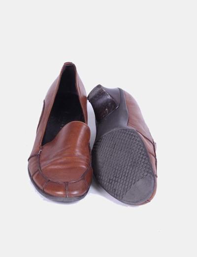 Zapatos mocasines marron