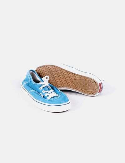 mejores ofertas en oferta especial zapatos para correr Bambas de tela azules