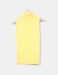 Top tricot amarillo cuello vuelto Fórmula Joven