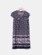 Vestido tricot estampado  Suiteblanco