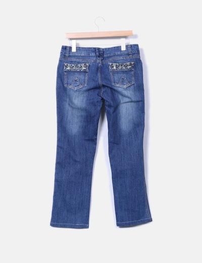 Jeans vaquero recto