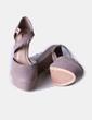 Zapato taupé con plataforma Suiteblanco